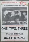 OY33 ONE TWO THREE JAMES CAGNEY BILLY WILDER COKE rare 1sh POSTER SPAIN