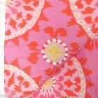 DENA IKAT BLOSSOM QUEEN QUILT 3pc SET 100% COTTON FLORAL PINK LIME ORANGE FULL
