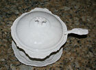AMERICAN EAGLE-WHITE POTTERY-SOUP TUREEN-USA