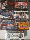 7 SEALED BOXES 2011 2012 2013 Absolute Leaf Rookies Crown Royale Football Cards