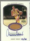2000 Upper Deck Lakers Master Collection Jerry West Autograph Forum Floor # 44