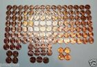 BU LINCOLN MEMORIAL CENT SET 1959 -2014 WITH 1960 AND 1982 TYPES . 129 BU CENTS