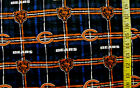 NFL CHICAGO BEARS NEW PLAID 100% COTTON FLANNEL FABRIC BY THE 1/2 YARD