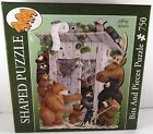 2009 BITS AND PIECES PUZZLE WHO'S TURN IS IT 750 PIC BEARS,OUT HOUSE COMPLETE