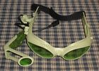 Hasbro Tiger Electronics Green Lazer Tag  Goggles Works
