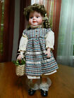 MARY Porcelain Doll by Kingstate, Collectable  NIB