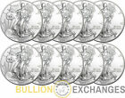 Lot of 10 - 2014 1 oz American Silver Eagles