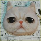 New Nice Hot Cotton Cute Mini Cat Coin Hand Purse Wallet For Children Gift