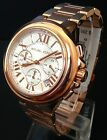 NEW MICHAEL KORS CAMILLE WOMEN'S ROSE GOLD WATCH MK5757 LADIES NEW IN BOX