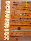 Antique BARBED WIRE Barb Wire Bob Wire COLLECTION 18