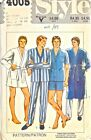 4005 Vintage Sewing Pattern Mens Dressing Gown &  Pajamas Sz 40 42 44 Style