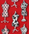 Quilt Fabric Henry Glass And Sew On Vintage Dress Forms  FREE SHIPPING