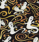 Quilt Fabric SSI Halloween Boo Who? Ghosts   FREE SHIPPING!!!