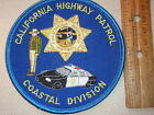 CHIPS CALIFORNIA HIGHWAY PATROL COASTAL DIVISION POLICE TROOPER PATCH