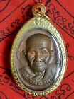 Authentic Thai Buddha Amulet Pendant Phra Lp Klai Wat Sungkun Lucky Wealth