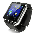Silver i7 15 Touch Screen Bluetooth Smart Wrist Watch Phone for Android Mobile