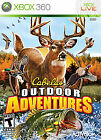 CABELA'S OUTDOOR ADVENTURES XBOX 360 - NR AND FREE SHIPPING!