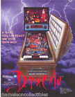 BRAM STOKER'S DRACULA By WILLIAMS 93 ORIGINAL NOS PINBALL MACHINE FLYER BROCHURE