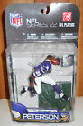 MCFARLANE FOOTBALL NFL SERIES 22 ADRIAN PETERSON ACTION FIGURE NEVER OPENED