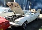 1967 Ford Mustang Convertable LHD Import For Restoration
