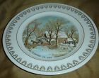 ROY THOMAS Currier & Ives WINTER Scenes Old Grist Mill PLATE # K-916 1978