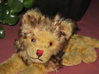 Mohair Laying Lion by Anker Germany 18 cm 1960s Rare