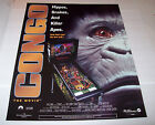 CONGO By WILLIAMS 1995 ORIGINAL NOS PINBALL MACHINE 28.25