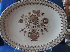 ANTIQUE PLATTER...JOHNSON BROS...OLD GRANITE...STAFFORDSHIRE...JAMESTOWN ENGLAND