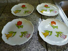 Stunning Vintage Tulip Time Shafford  Salad Plate From 1979 Set of 4