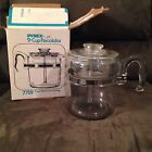 Vintage Pyrex 9 Cup Glass Coffee Pot Percolator Model 7759-B Complete CLEAN