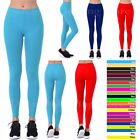 Women Basic Solid Fleece Lined Seamless Leggings Warm Winter Thick Stretch