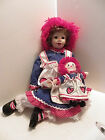 Porcelain Raggedy Ann Danbury Mint Kelly RuBert 1996
