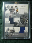2002 SP Authentic AT3-FW Triple Jersey; Favre, Warner, Manning Ser No. 249 250
