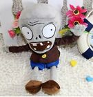 New Plants vs. Zombies plush soft toys gray  Zombie  28CM d4