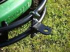 John Deere Front Bumper BALL HITCH Receiver Attachment GX325 GX335 GX345 GX355