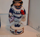 Porcelain doll goldenvale collection limited edition standing on drum