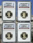 2014 S PRESIDENTIAL DOLLAR PROOF SET 1 NGC PF69