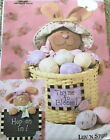Luv N Stuff Easter pattern Bunny Rabbit eggs basket decoration wallhanging