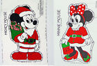 Mickey Minnie Mouse Santa Claus Cut & Sew Pillow Fabric Panels Christmas Holiday
