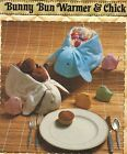 1984 Bunny Bun Warmer Chick Egg Covers Easter Basket Roll Server Sew PATTERN