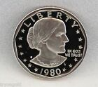 1980-S Proof Susan B. Anthony Dollar (Type 1) DCAM