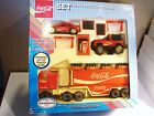 COCA COLA HEAVY GAUGE STEEL TRUCKS PLAY SET MINT IN BOX BY REMCO 1988 NEW YORK
