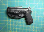 Custom Carbon Fiber Holstex Holster III for Beretta 92A1 New RH IWB or LH OWB