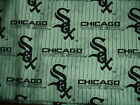 RARE MLB White Chicago White Sox cotton fabric Fat Quarter FQ NEW crafting