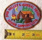 Boy Scouts - OHIO VALLEY & ADMIRAL PERRY SPRING CAMPOREE 1978 Patch VINTAGE