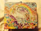 Lisa Frank Lunch Tin Box With 100 Piece Puzzle
