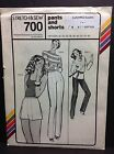 Stretch & Sew Ann Person Uncut Pattern #700 Pants And Shorts Vintage 1979