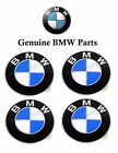 For BMW E30 E32 E34 E36 Emblem Sticker Wheel Center Cap 58 mm SET OF 4 Genuine