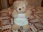 Vintage 1987 Emotions Stuffed Plush I Love Mom - Moma Bear New with tags NOS