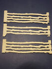 Revolutionary War Set Series 500 Roy Rogers Split Rail Marx White Fence Sections